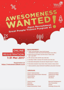 Telkom Open Recruitment