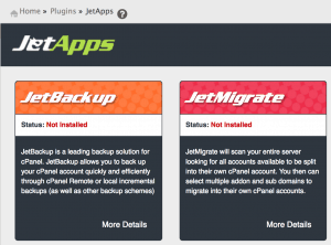 Jetapps applications