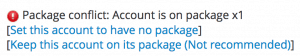 Keep account package
